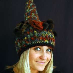genna miles crochet hat The Artistic Crochet Hats of Genna Miles