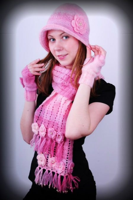 girls crochet scarf set 100 Unique Crochet Scarves