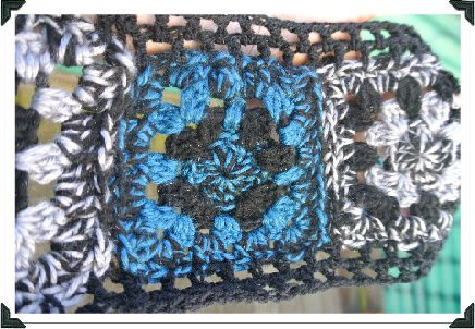 Post image for My Crochet: Turning Those Granny Squares Into a Scarf