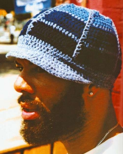 mens crochet hat 400x501 100 Unique Crochet Hats