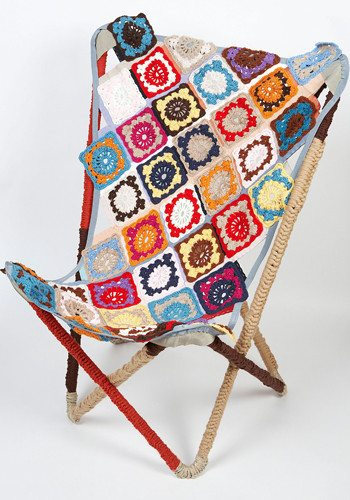 moschino granny square chair Designer Crochet: Franco Moschino