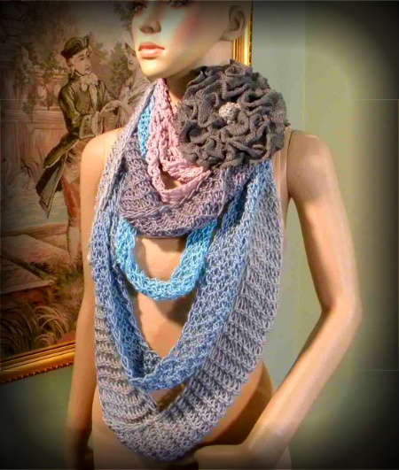 oversized crochet scarf 100 Unique Crochet Scarves