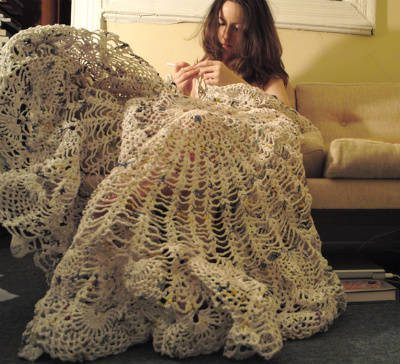 Post image for Porcelain Crochet Artist Kristen Wicklund
