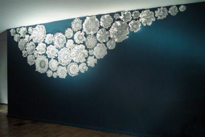 porcelain lace crochet art
