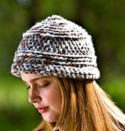 padrão de chapéu de crochê deslizamento ponto