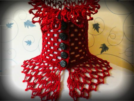 steampunk crochet scarf 100 Unique Crochet Scarves