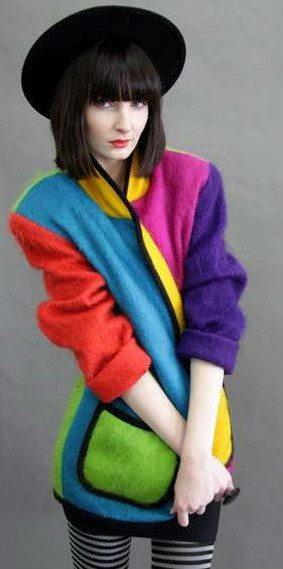 ungaro vintage sweater Designer Crochet Project: Emanuel Ungaro