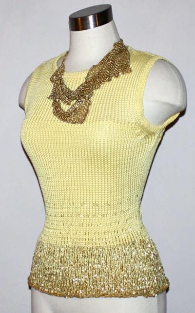 vintage versace crochet 400x643 Designer Crochet: Versace