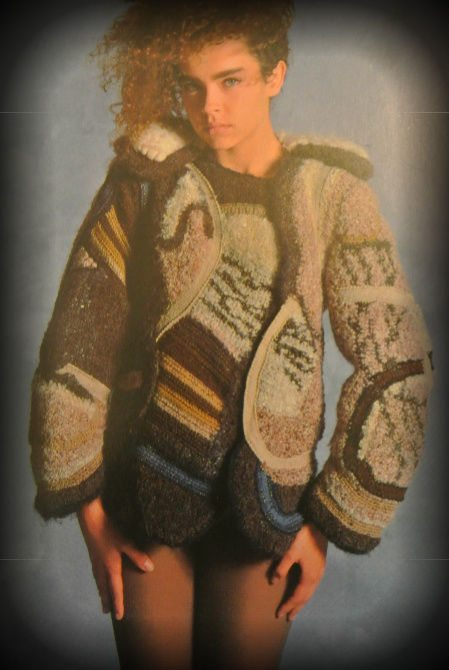 wearable crochet art Edgy 1970s Crochet Designers: Arlene Stimmel