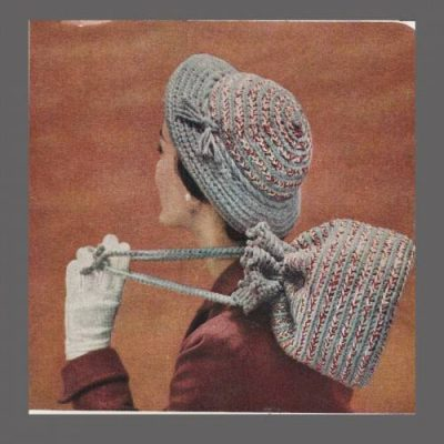 1960s crochet hat 400x400 100 Unique Crochet Hats