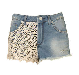 Topshop crochet shorts April Celebrity / Designer Crochet Roundup