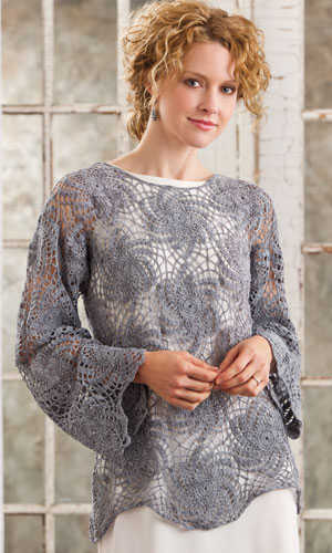 acero lace crochet top Pin It! Crochet! Magazine Giveaway