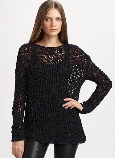 alpaca crochet sweater