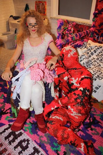 artist olek Top Ten Crochet Heroes (Crochet Blog Week, Day 3)