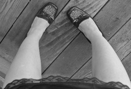 black and white shoes 365 Ways to Wear Crochet: Black and White