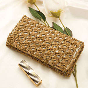 broomstick lace clutch Pin It! Crochet! Magazine Giveaway