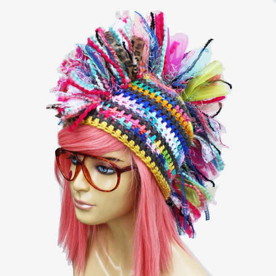 100 Unique Crochet Hats