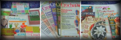 crochet books and magazines 400x133 Then And Now: A Look Back at Last Year in Crochet (7/22   7/28)