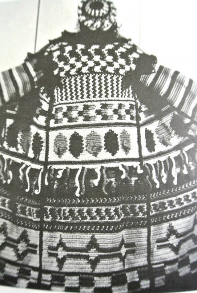 crochet coat 400x596 Edgy 1970s Crochet Designers: Frank Lincoln Viner