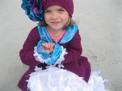 crochet hat and sweater set 400x300 100 Unique Crochet Hats