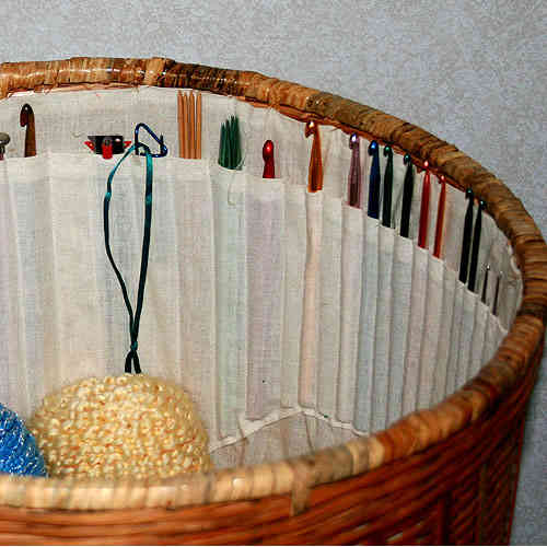 crochet hook basket 10 Smart Ways to Organize Your Crochet Hooks