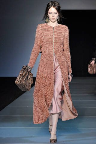 crochet jacket armani Designer Crochet: Giorgio Armani