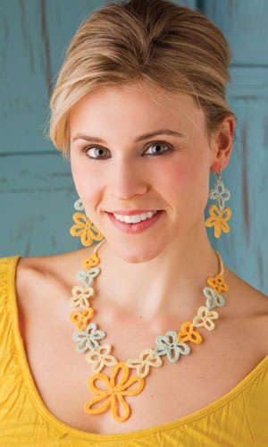 crochet jewelry Pin It! Crochet! Magazine Giveaway