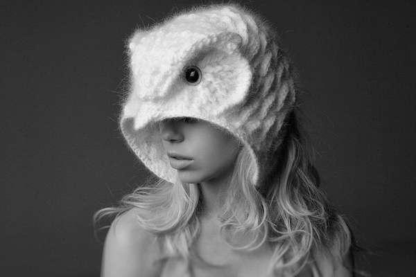crochet el sombrero de búho