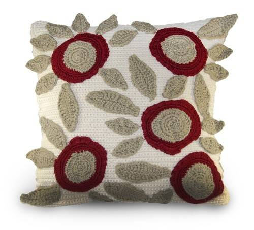 Post image for Etsy Crochet Pattern: Floral Pillow
