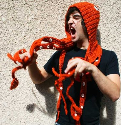 crochet squid 400x413 Where What Not to Crochet Got It Wrong