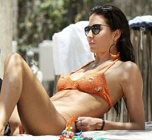 crochet swimwear April Celebrity / Designer Crochet Roundup