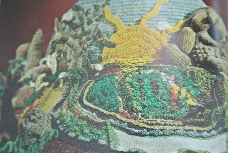 del feldman crochet art Edgy 1970s Crochet Designers: Del Feldman