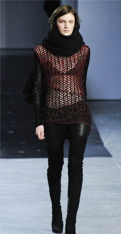 helmut lang crochet 100 Unique Crochet Shirts and Sweaters