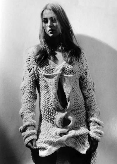 helmut lang knits3 Designer Crochet: Helmut Lang