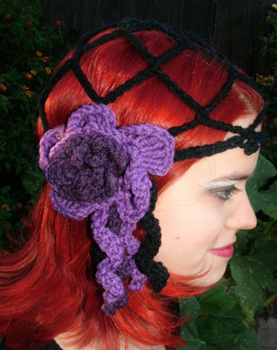 openwork cloche hat 400x505 100 Unique Crochet Hats