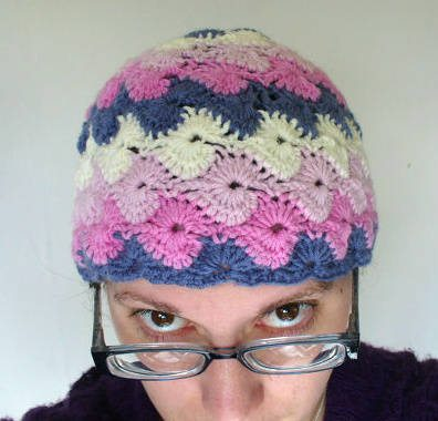 pinwheel crochet hat 100 Unique Crochet Hats