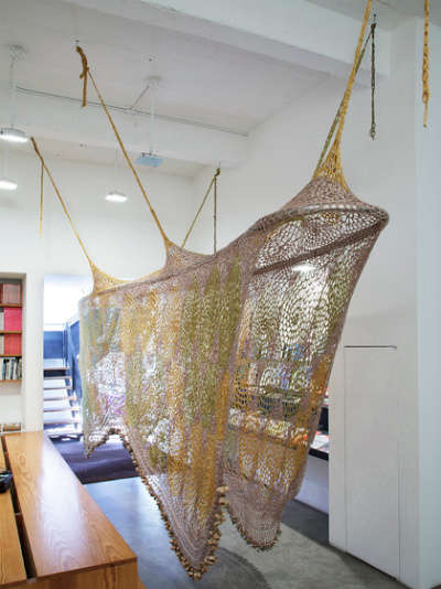 soundway ernesto neto Ernesto Neto Crochet Nets Reminiscent of Horiuchis Crocheted Playground