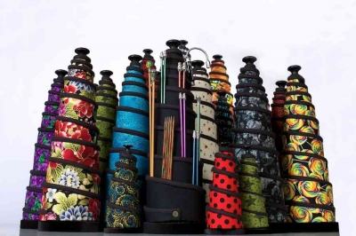 spiral crochet hook organizer 400x266 10 Smart Ways to Organize Your Crochet Hooks