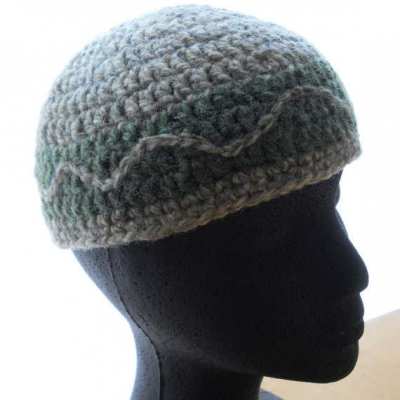 upcycled lambswool beanie 400x400 100 Unique Crochet Hats