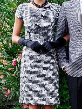vintage armani dress Designer Crochet: Giorgio Armani
