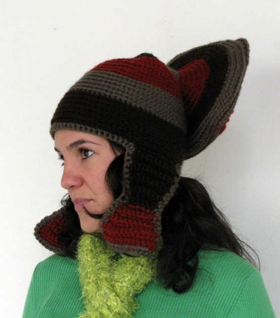 weird crochet hats 400x454 100 Unique Crochet Hats