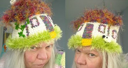 weird crochet hats1 100 Unique Crochet Hats