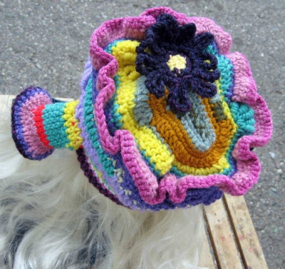 whimsical crochet hat 400x377 100 Unique Crochet Hats