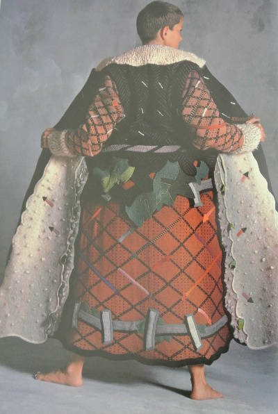 1970s crochet art coat Edgy 1970s Crochet Designers: Jean Williams Cacicedo