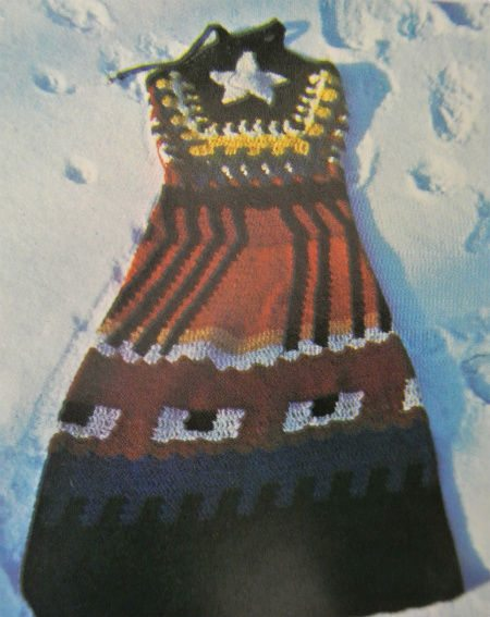1970s crochet dress Edgy 1970s Crochet Designers: Jean Williams Cacicedo