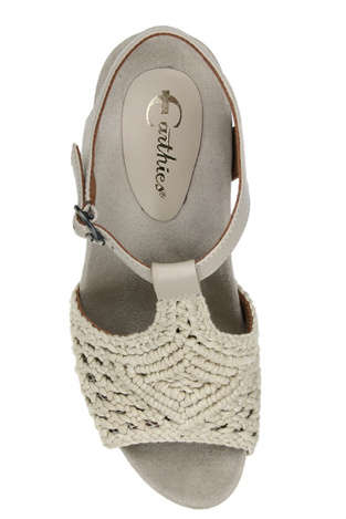 amalfi crochet shoes Coveting: Red Crochet High Heel Sandals