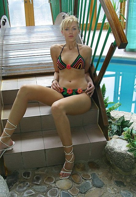 crochet bikini1 30 Most Beautiful Crochet Swimsuits