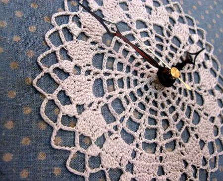 crochet clock art 20 Most Sensational Crochet Clocks