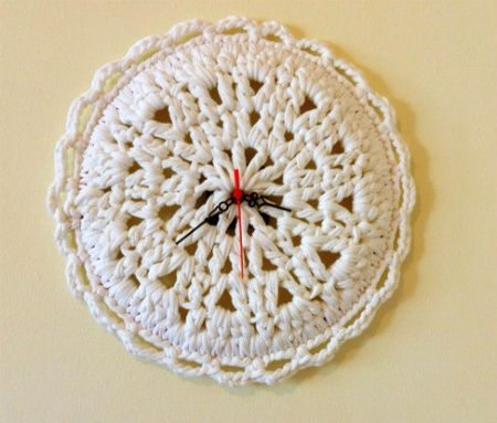 crochet clock 20 Most Sensational Crochet Clocks