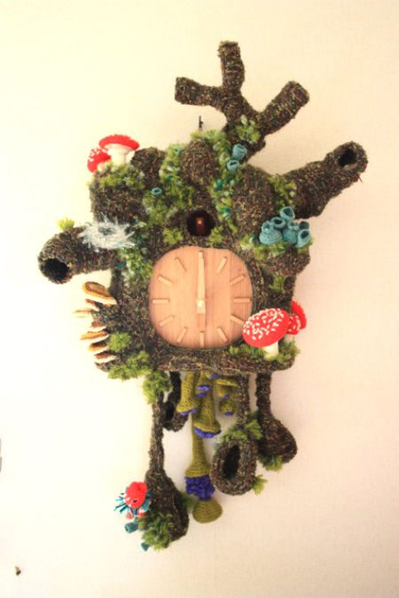 crochet cuckoo clock 20 Most Sensational Crochet Clocks